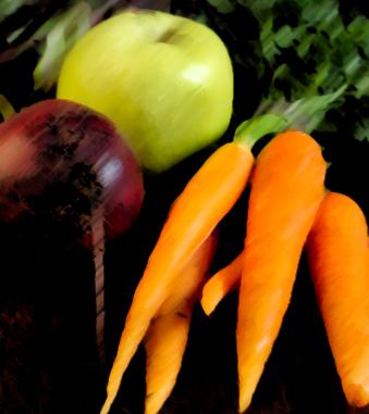 carrot apple beetroot